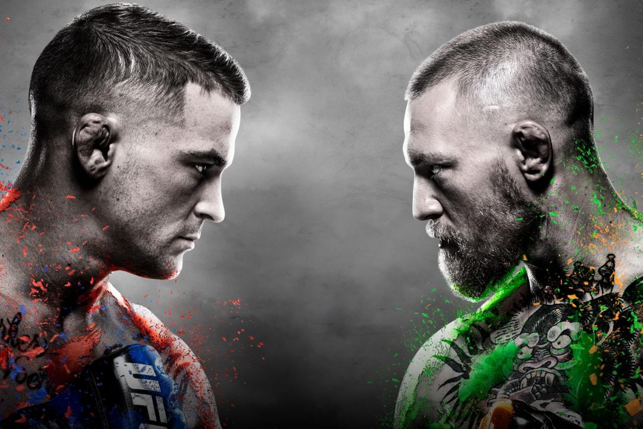 UFC 257: Poirier vs McGregor 2 Results | UFC